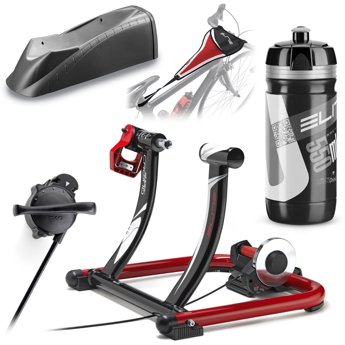 Elite SuperCrono Mag Force (Volare) Bundle   Turbo Trainers