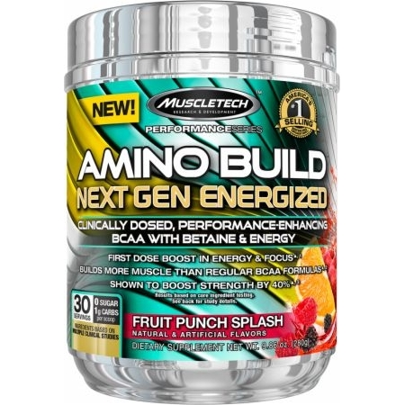 Muscletech Amino Build Next Gen Energized - Choice of Flavours.