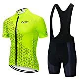 Mens Cycling Jersey Race fit & Gel Padded Bib Shorts - Available in 15 variations. Delivery in July. These are imported and are NOT NorthWave products.