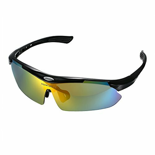 Aroncent Cycling Sunglasses & Outdoor Sports, Polarized Anti-UV Anti-glare, Colour Ch - (FREE Delivery)