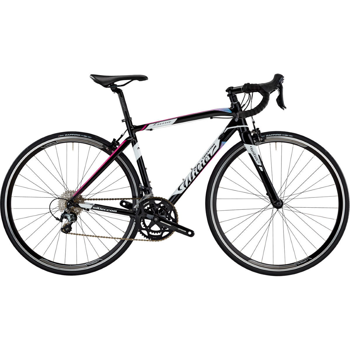 Wilier Luna (Tiagra 2018) Road Bike Black/White in Stock in Small at this price.