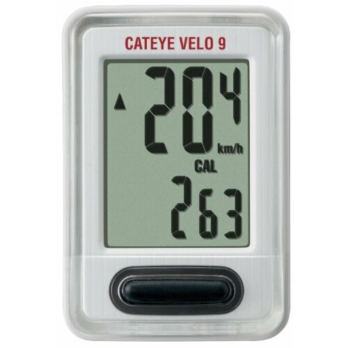 CatEye CC-VL820 Velo 9 Cycle Computers, White - JUST REDUCED AGAIN.
