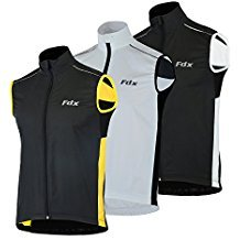 FDX Mens cycling Gilet Shower Windproof Foldable Cycling Jacket