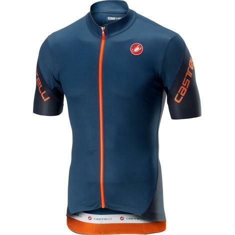 Castelli Entrata 3 FZ Short Sleeve Cycling Jersey - SS19 - Choice Colours & Sizes