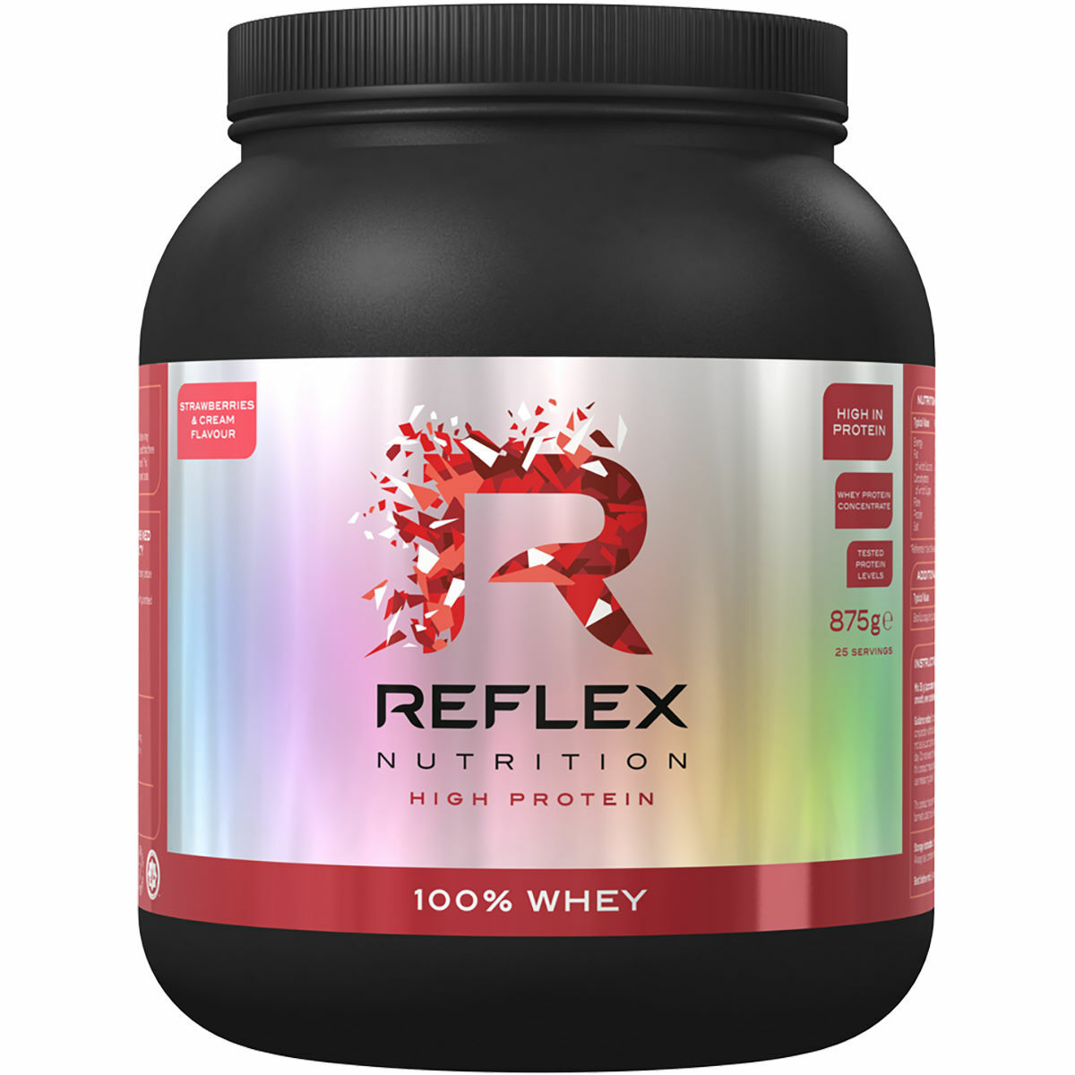 Reflex 100% Whey Protein (2kg)  - FREE Postage - Price for Chocolate Peanut Butter only