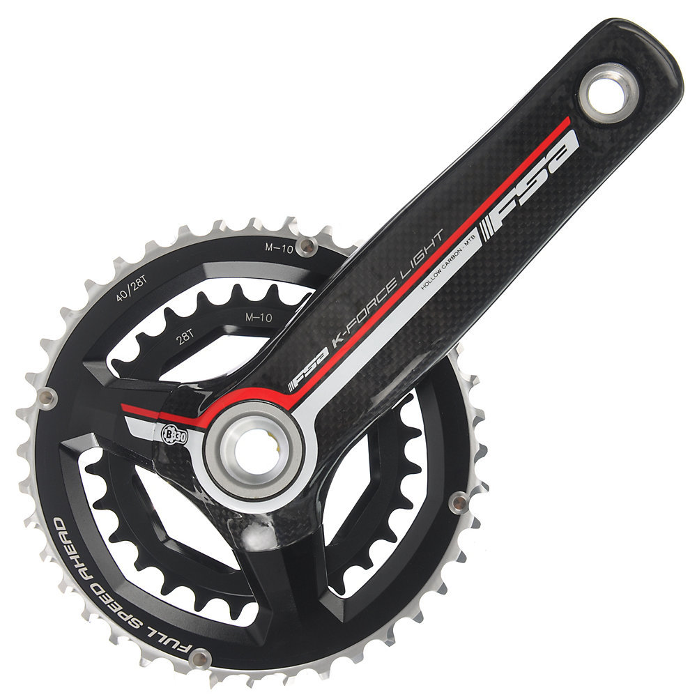 FSA K-Force Light 10sp MTB Crankset - Clearance limited availability specific size.