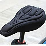Uncomfortable Saddle ?? Try this Starcrafter Cycling 3D Silicone Gel Pad Soft Cushing Saddle Cover in 4 Colours + FREE DELIVERY.