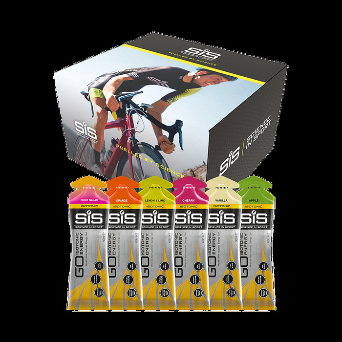 CLEARANCE Scienceinsport Sis Mixed Go Isotonic Energy Gels 30 Pack