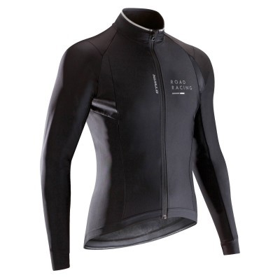 B'twin Aerofit 900 Light Cycling Jacket Black - FREE Delivery over £30.