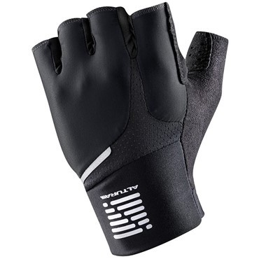 Altura Podium Progel Short Finger Cycling Gloves - Clearance Black Only in S/M