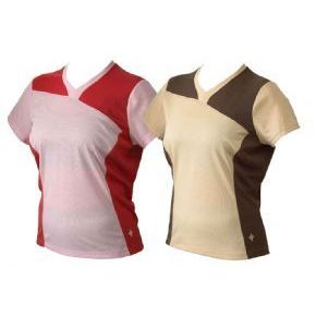Specialized Atlas Womens Short Sleeve Jersey - Tan in S or Pink in XS