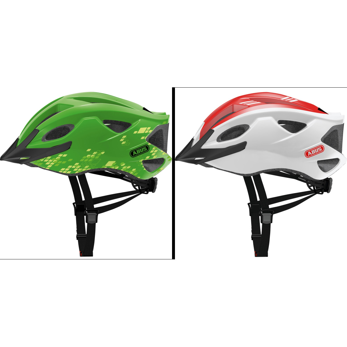 Abus S-Cension Helmet - Green Only Remaining (NOW JUST £9.99)