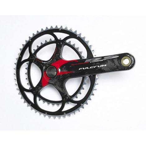 Fulcrum R-Torq RS Chainset - 10 Speed / 175mm / 39/53 / Carbon / Red Graphic