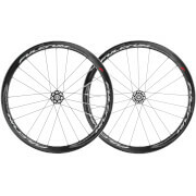 Fulcrum Racing Quattro C17 Carbon Clincher Disc Brake Wheelset - 6 Bolt - Thru Axle