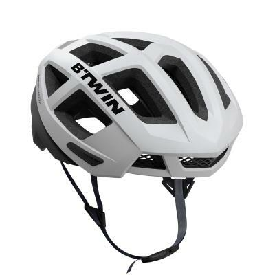B'twin Aerofit 900 Road Cycling Helmet White - Spend a penny more for FREE postage.