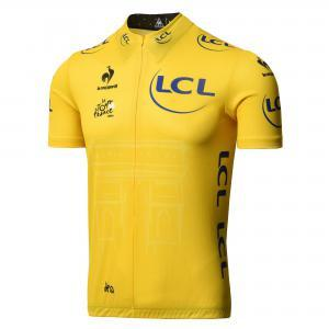 Le Coq Sportif TDF Official Yellow Leaders Jersey - 2015 Large