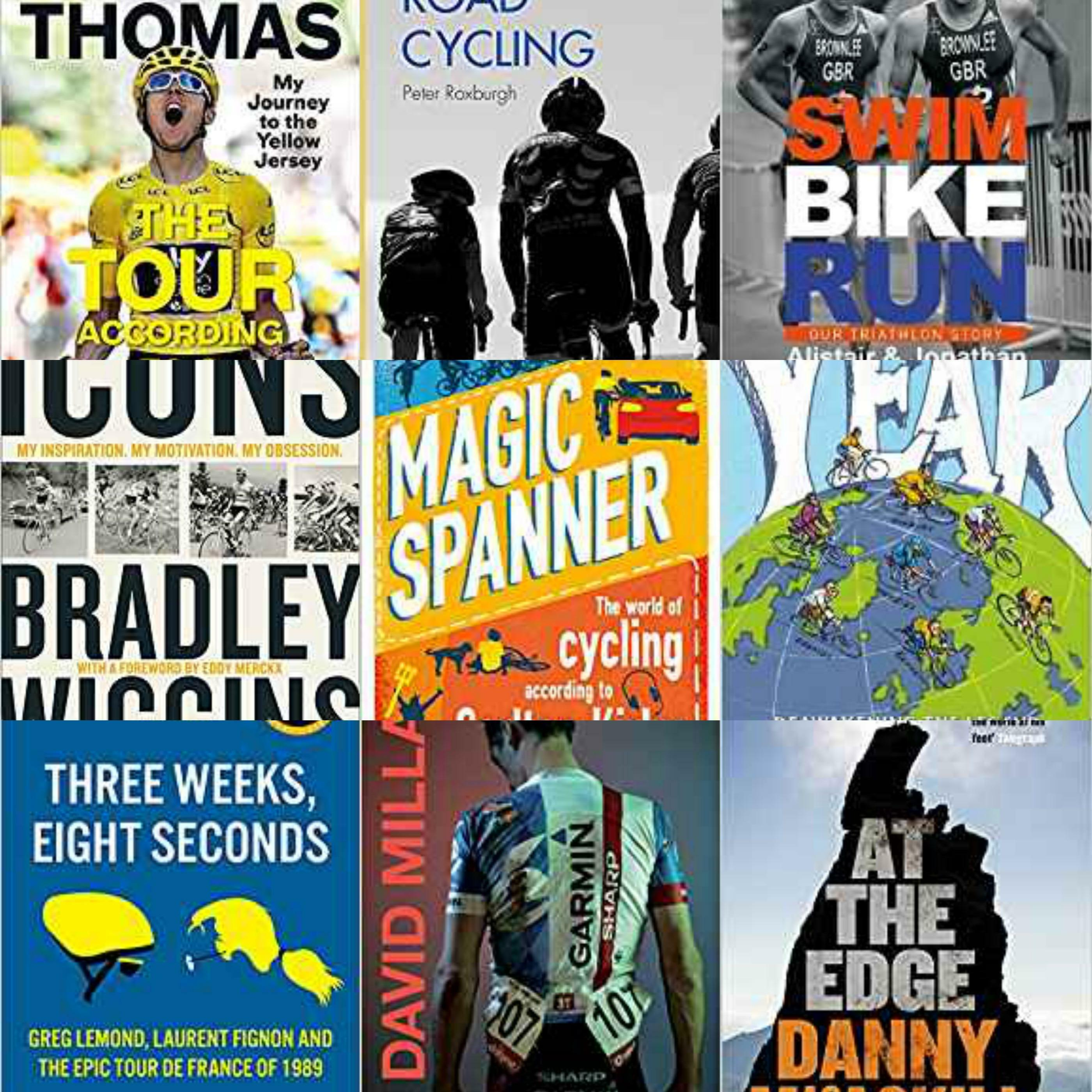 Selection of Cycling and Autobiography Books for the Lockdown..., Prices from £2.99 -- Some are FREE with Audible Trial.