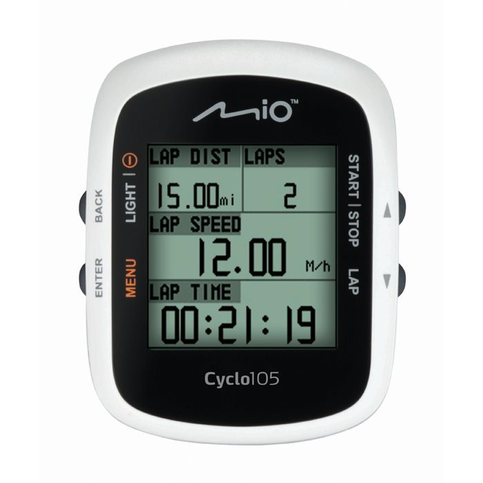 Mio Cyclo 105H GPS Cycling Computer With Heart Rate Monitor