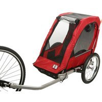 Halfords Single Child Bike Trailer - Great in the summer.