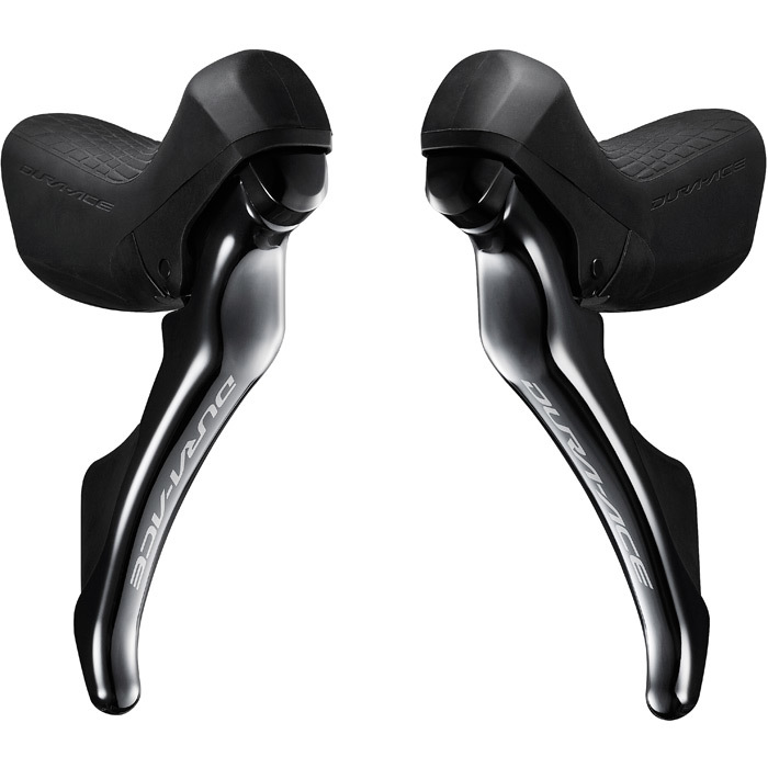 Shimano STI Levers Dura Ace 9100 - 11 Speed with all Cables.