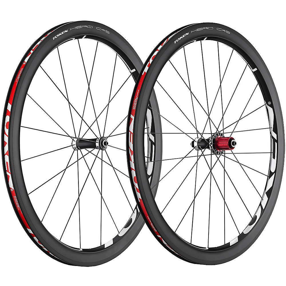 Token Hero C45 Carbon Clincher Wheelset - Sorry very popular, all SOLD out.