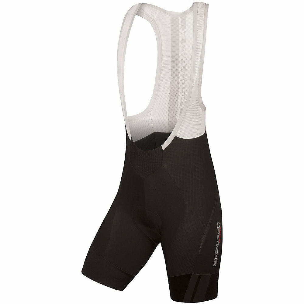 Endura Womens FS260-Pro SL DS Bib Shorts - Black, Clearance in Large only.