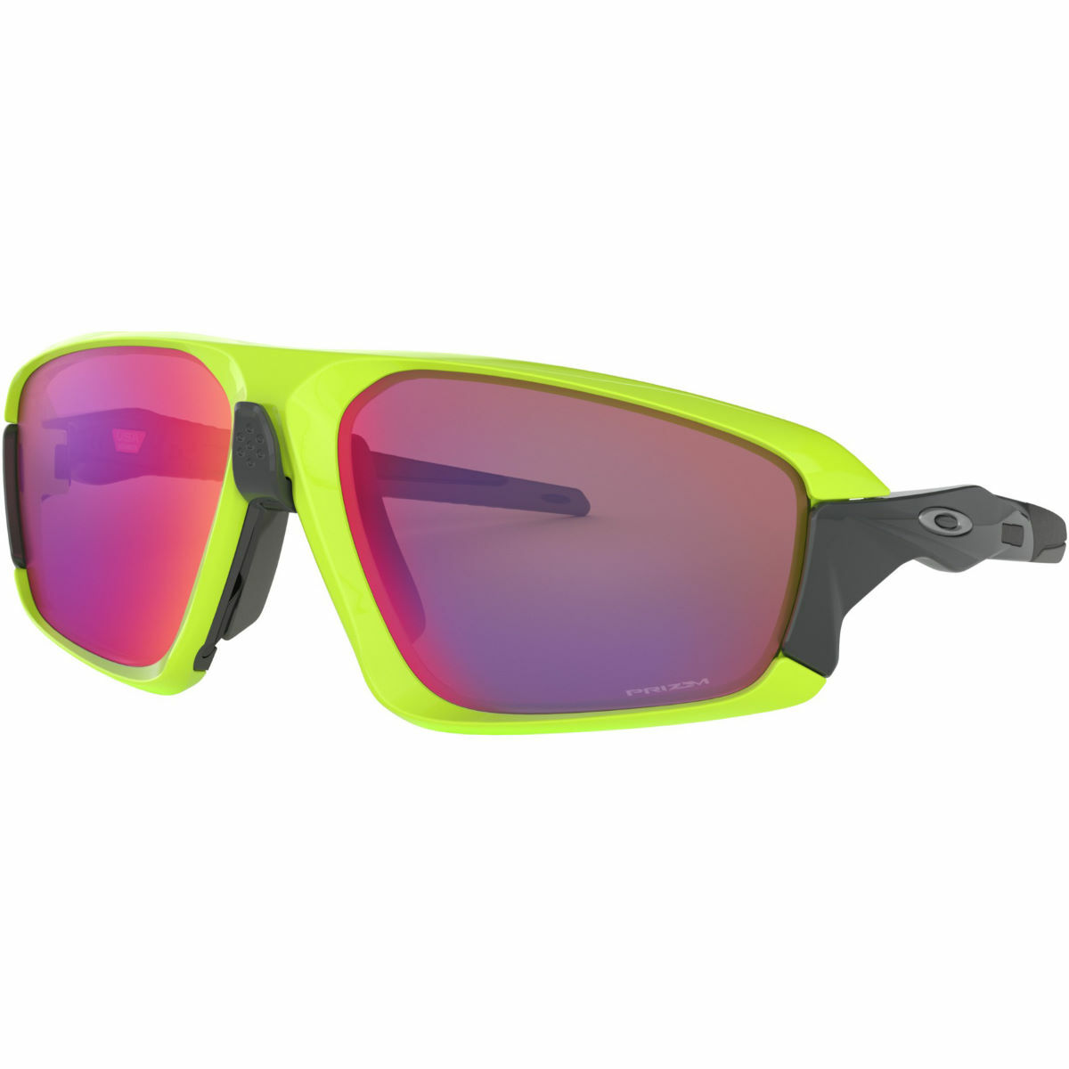 Oakley Field Jacket Prizm Road Sunglasses - Full UV Protection, Advancer Nosebridge system, Suitable for medium lighting conditions (FREE DELIVERY).