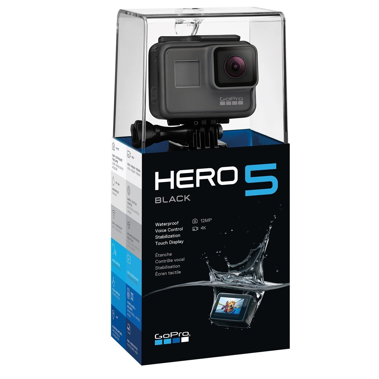GoPro HERO5 Black Action Camera - In Stock + FREE Delivery.