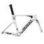 Eddy Merckx Lugano 68 TT Frameset - 2017 - White / Black / Anthracite (Available in 4 Colours, limited sizes) / Large