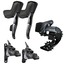 Sram Force eTap AXS 1X D1 Electronic HRD Disc Road Groupset - 12 Speed - Black / 12 Speed / Gear Levers/Hydraulic Disc Brake.