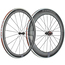 Token C580A Carbon Clincher 700c Road Wheelset Black / SRAM/Shimano/Campag/ Pair 10-11 Speed