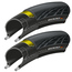 Pair Continental GP5000 Folding Tyres With 2 Free Inner Tubes - FREE DELIVERY.