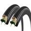 Vittoria Corsa G+ Isotech Folding Tyres With 2 Free Inner Tubes - Pair