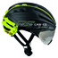 Casco Speedairo RS Helmet with Vautron Visor - Black/Neon - M/L - Black/Yellow